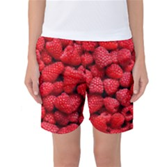 Raspberries 2 Women s Basketball Shorts