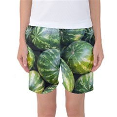 Watermelon 2 Women s Basketball Shorts