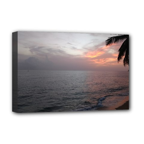 Sunset Deluxe Canvas 18  X 12   by sherylchapmanphotography