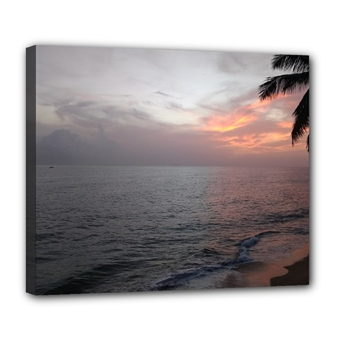 Sunset Deluxe Canvas 24  X 20   by sherylchapmanphotography