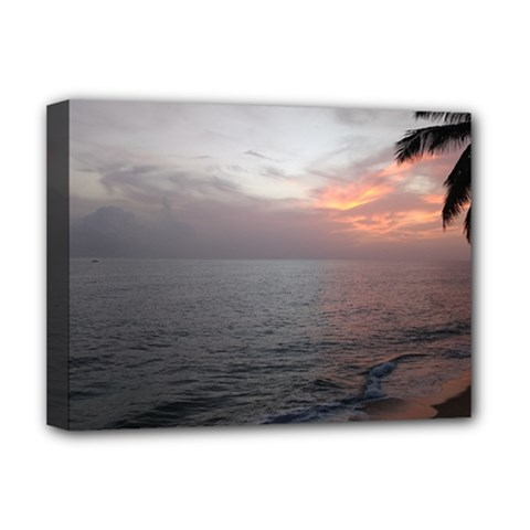Sunset Deluxe Canvas 16  X 12   by sherylchapmanphotography