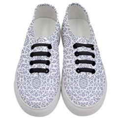 Radial Mandala Ornate Pattern Women s Classic Low Top Sneakers