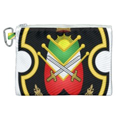 Shield Of The Imperial Iranian Ground Force Canvas Cosmetic Bag (xl) by abbeyz71