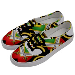 Shield Of The Imperial Iranian Ground Force Men s Classic Low Top Sneakers by abbeyz71