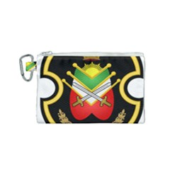Shield Of The Imperial Iranian Ground Force Canvas Cosmetic Bag (small) by abbeyz71