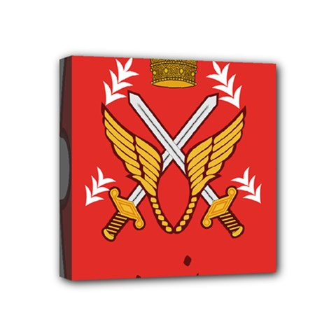 Seal Of The Imperial Iranian Army Aviation  Mini Canvas 4  X 4  by abbeyz71