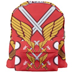 Seal Of The Imperial Iranian Army Aviation  Giant Full Print Backpack