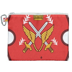 Seal Of The Imperial Iranian Army Aviation  Canvas Cosmetic Bag (xxl) by abbeyz71