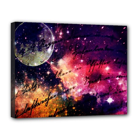 Letter From Outer Space Canvas 14  X 11  by augustinet