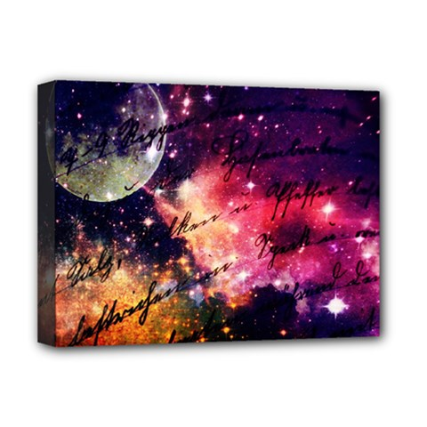 Letter From Outer Space Deluxe Canvas 16  X 12   by augustinet