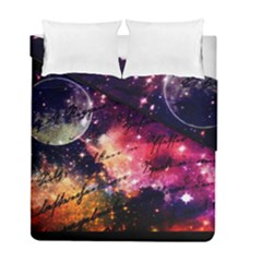 Letter From Outer Space Duvet Cover Double Side (full/ Double Size) by augustinet