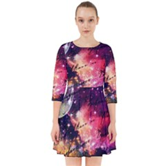Letter From Outer Space Smock Dress
