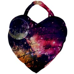 Letter From Outer Space Giant Heart Shaped Tote by augustinet