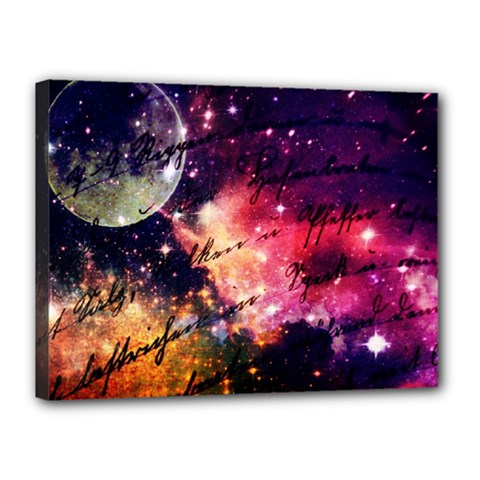 Letter From Outer Space Canvas 16  X 12  by augustinet