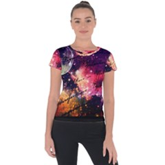 Letter From Outer Space Short Sleeve Sports Top