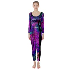 Magic Forest Long Sleeve Catsuit by augustinet