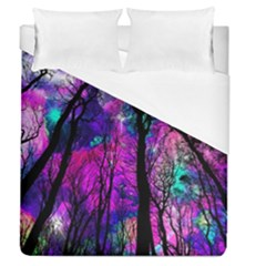 Magic Forest Duvet Cover (queen Size) by augustinet