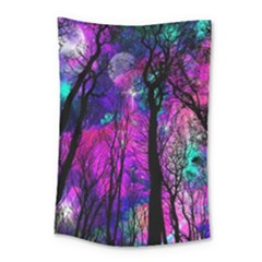 Magic Forest Small Tapestry by augustinet