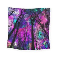 Magic Forest Square Tapestry (small) by augustinet