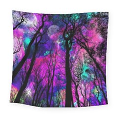 Magic Forest Square Tapestry (large) by augustinet