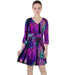 Magic Forest Ruffle Dress