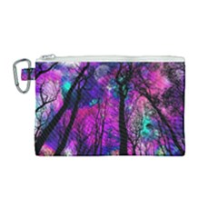 Magic Forest Canvas Cosmetic Bag (medium) by augustinet