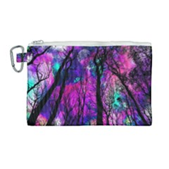 Magic Forest Canvas Cosmetic Bag (large) by augustinet