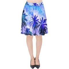 Summer Night Dream Velvet High Waist Skirt by augustinet