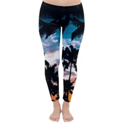 Palm Trees Summer Dream Classic Winter Leggings by augustinet