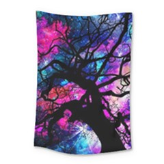Star Field Tree Small Tapestry by augustinet