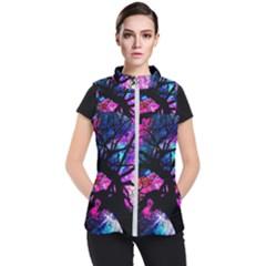 Star Field Tree Women s Puffer Vest