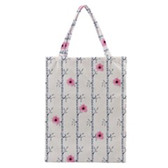 Minimalist Floral Classic Tote Bag by augustinet