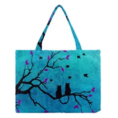 Lovecats Medium Tote Bag by augustinet