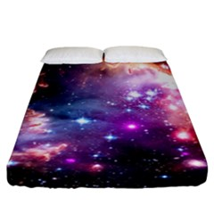 Deep Space Dream Fitted Sheet (california King Size) by augustinet