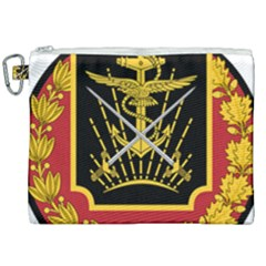 Logo Of Imperial Iranian Ministry Of War Canvas Cosmetic Bag (xxl) by abbeyz71