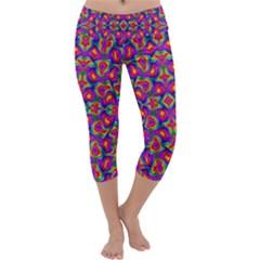 Colorful 11 Capri Yoga Leggings