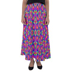Colorful 11 Flared Maxi Skirt