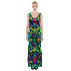 Colorful 13 Maxi Thigh Split Dress