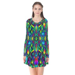 Colorful 13 Flare Dress