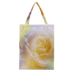 Beautiful Yellow Rose Classic Tote Bag by FantasyWorld7