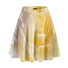 Beautiful Yellow Rose High Waist Skirt by FantasyWorld7