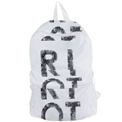 Riot Foldable Lightweight Backpack by Valentinaart