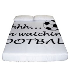 Football Fan  Fitted Sheet (king Size) by Valentinaart