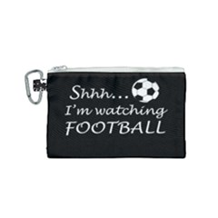 Football Fan  Canvas Cosmetic Bag (small) by Valentinaart