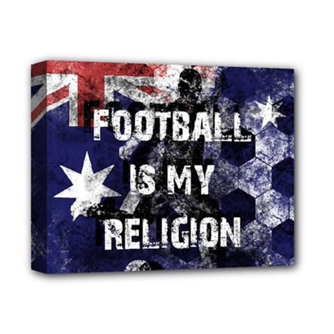Football Is My Religion Deluxe Canvas 14  X 11  by Valentinaart