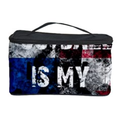 Football Is My Religion Cosmetic Storage Case by Valentinaart