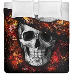 Skull Duvet Cover Double Side (king Size)