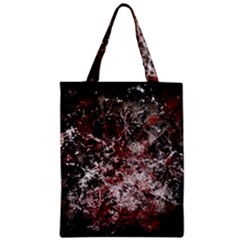 Grunge Pattern Zipper Classic Tote Bag by Valentinaart