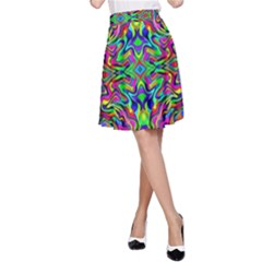 Colorful 15 A Line Skirt