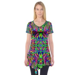 Colorful 15 Short Sleeve Tunic